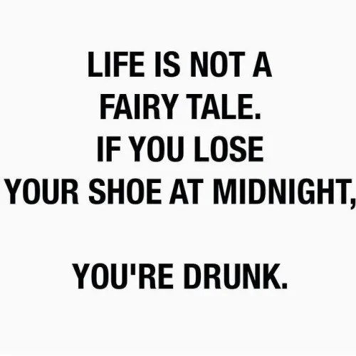 Life Is Not A Fairy Tale There Are Consequences