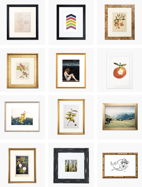 Modern Classic And Eclectic Framing Mail Order Service