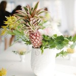 Sunday Bouquet: Centerpiece With Pineapple