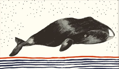Whale Illustration Artwork