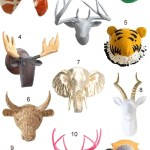 Get the Look: 45 Faux Animal Heads