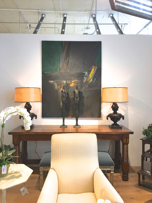 Budd Hopkins Abstract Expressionist Painting At Webster & Co. BDC