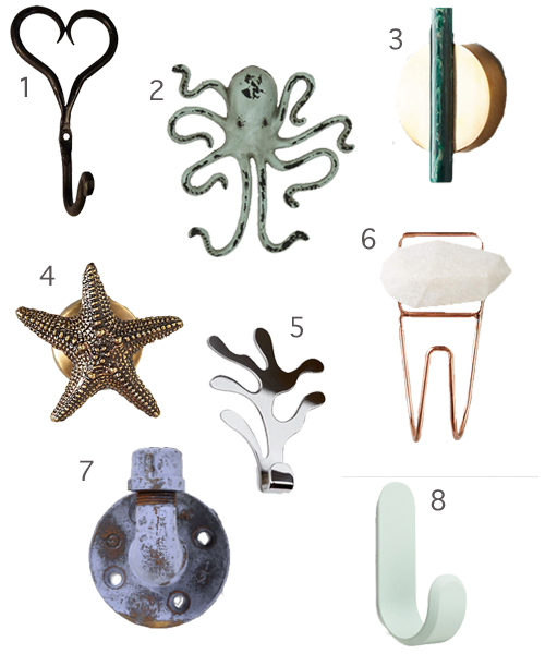 Decorative Wall Hooks 1