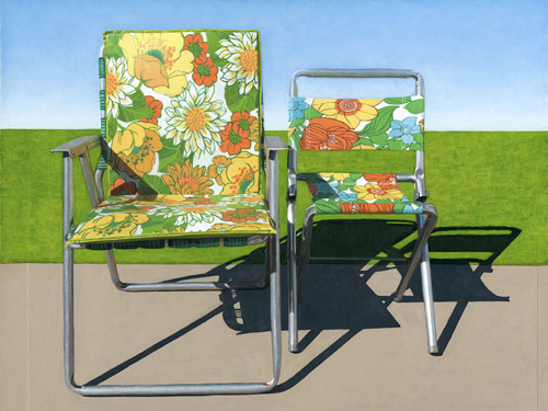 Floral Lawn Chairs By Leah Giberson Jealous Curator