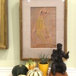 Sunday Bouquet: Gourds on a Shelf