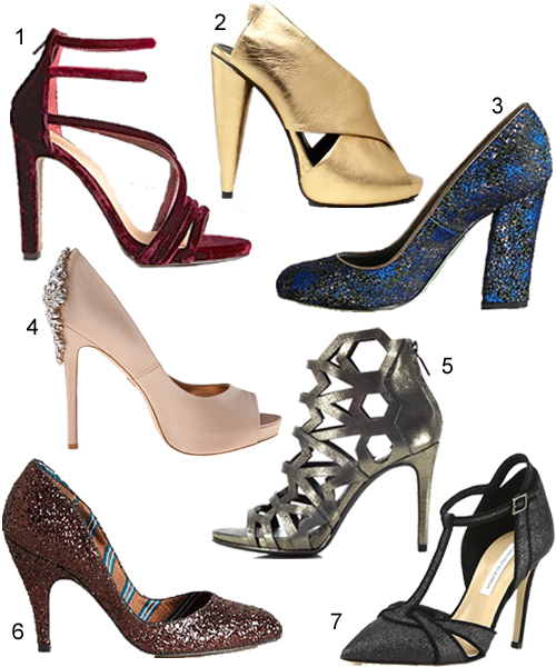 Holiday Party Shoes Dressy Heels