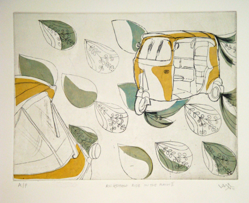 Affordable Art Print By Contemporary Indian Artist Vani Sayeed