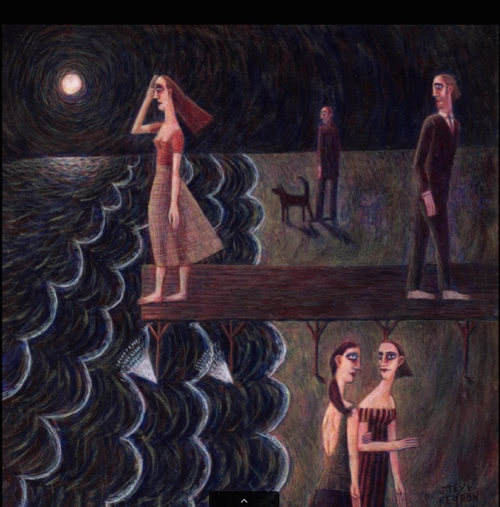 Folk Inspired Painting By Steve Negron