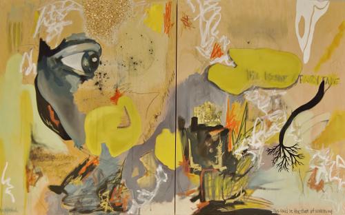 Something Beautiful Painting By Boston Artist Hilary Tait Norod