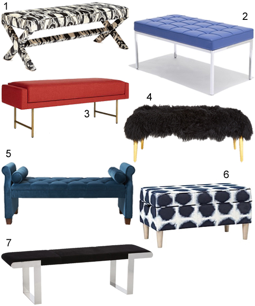 Get The Look 56 Upholstered Benches Stylecarrot