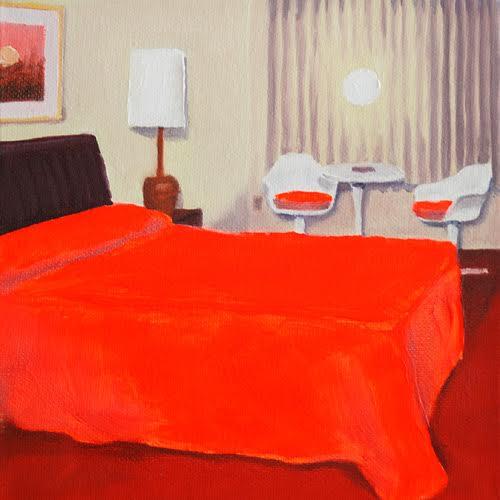 Motel Room Murder Scene Paintings By Airco Caravan