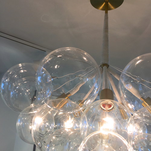 Bubble Chandelier By Pelle At Room 68