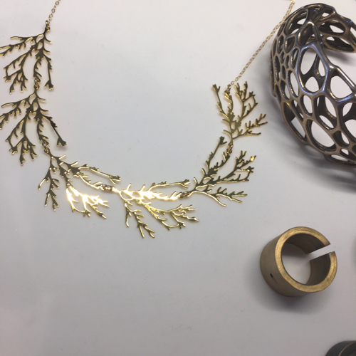 Laser Cut Jewelry By Nervous System