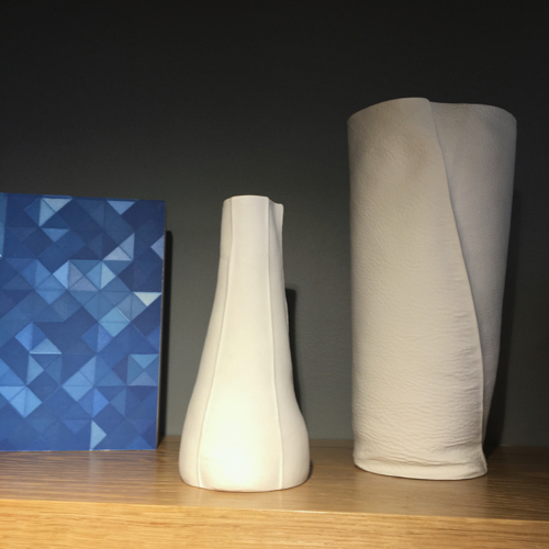 Kawa Porcelain Vases By Souda