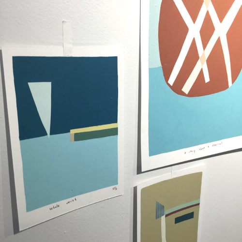 Brooklyn Artist Kristin Texeira's Provincetown Landscape Paintings At Room 68