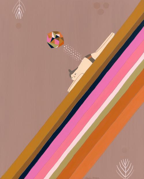 Rainbow Illustration Laura Berger