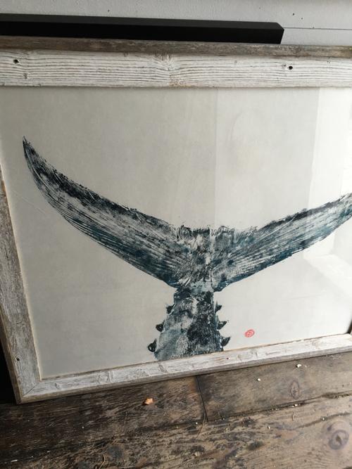 Japanese Fish Prints By Nantucket Artist Peter Van Dingstee