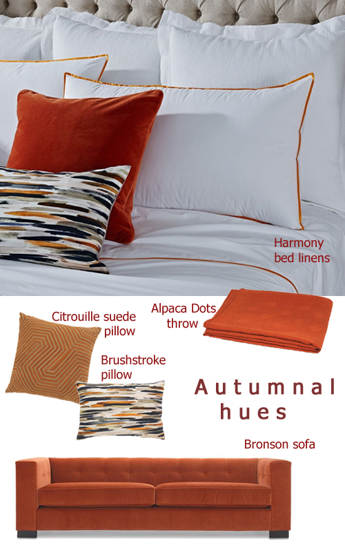 Fall Decor Trends Autumnal Hue Furnishings