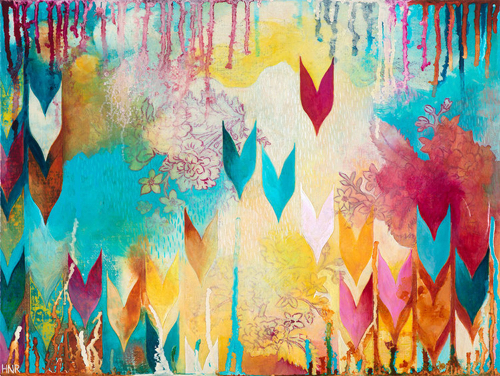Abstract Painting by San Francisco Artist Heather Robinson