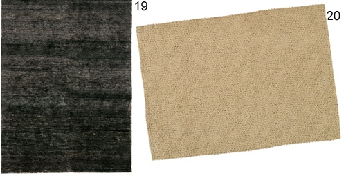 Solid and Subtly Patterned Area Rugs
