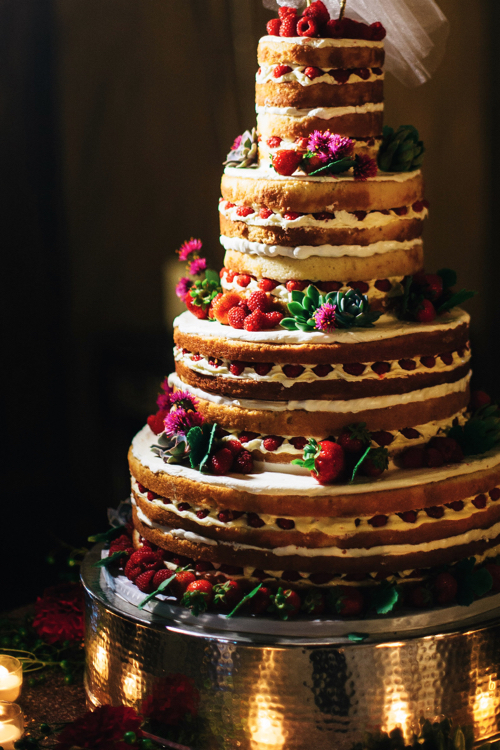 Naked Wedding Cake By Cakes To Remember In Boston