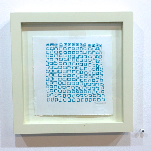 Geometric Abstracts With Thread By Regina Jestrow