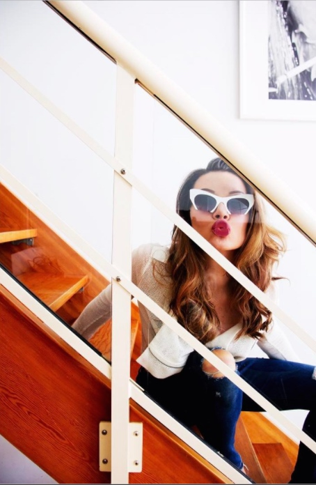 Justyna Przybylowska Self Portrait On Stairs