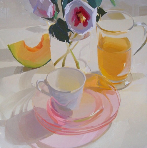 Still LIfe Painting By Karen O'Neill