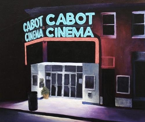 Cabot Cinema Cityscape By Ashlee Beadle