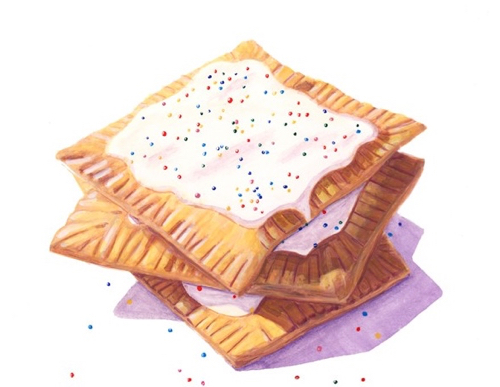 Pop Tart Painting By Lauren Douglas