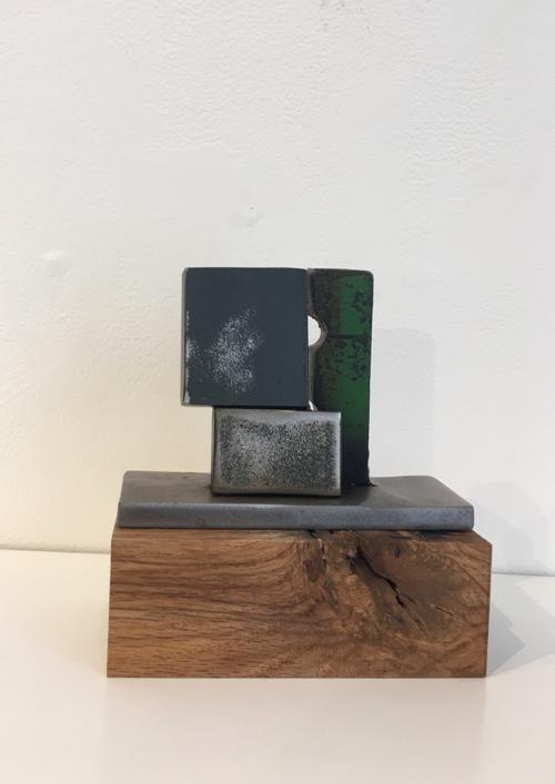 Wood & Metal Sculpture At Miniatures Exhibit at Cambridge Art Association By Marni Katz