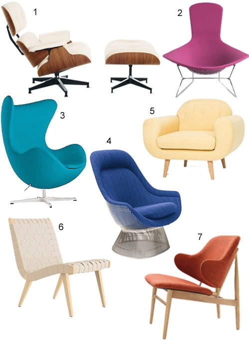 Get the Look: 25 Modern Lounge Chairs - StyleCarrot