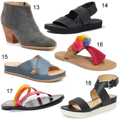 Nordstrom Half-Yearly Sale Summer Shoes & Boots