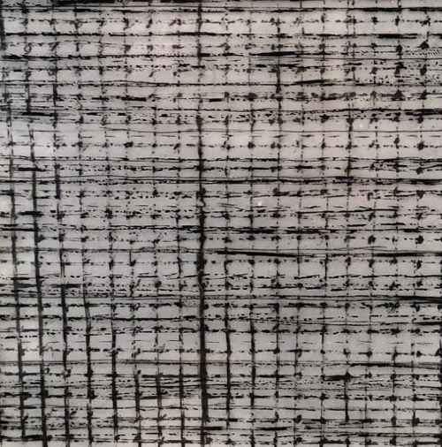 Boston Artist Brenda Roswess Abstract Drawing