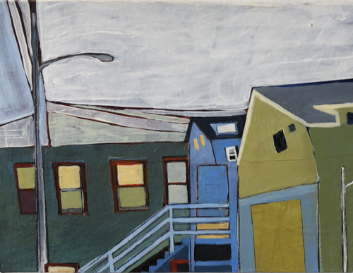 Boston Artist Stacey Durand Landscape