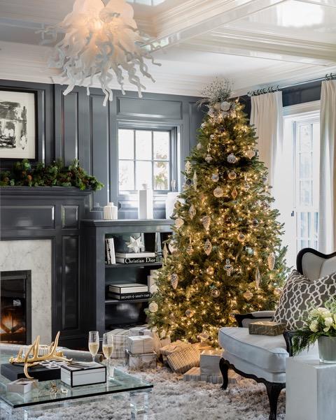 Neutral Christmas Tree Decor Marc Langlois
