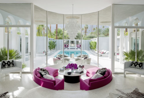 Palm Springs Modernist Paradise Conversation Pit