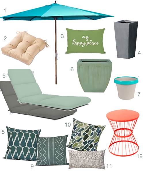 Get the Look Summer Living Patio Refresh
