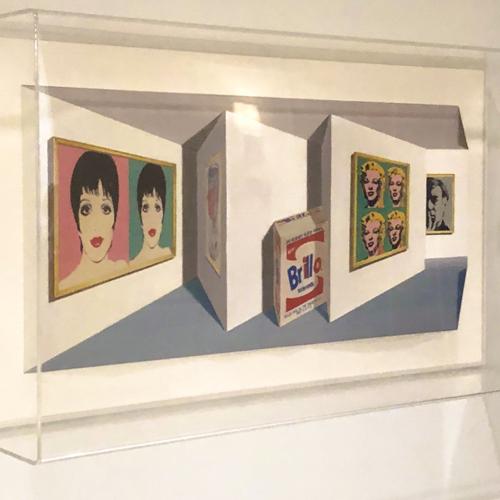 Three Dimensional Artwork by Patrick Hughes
