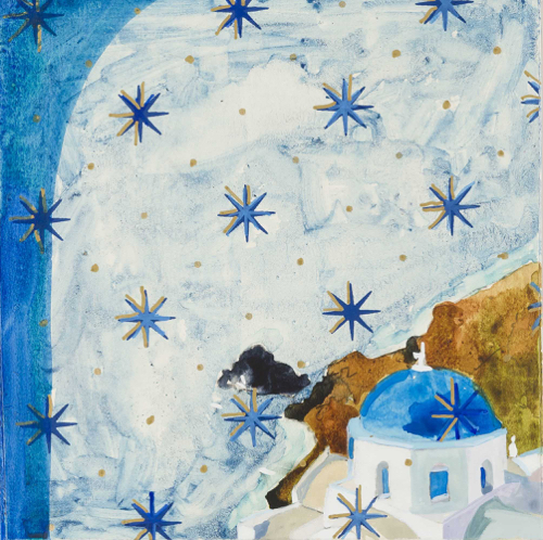 Lee Essex Doyle Travel Paintings Cerulean Star