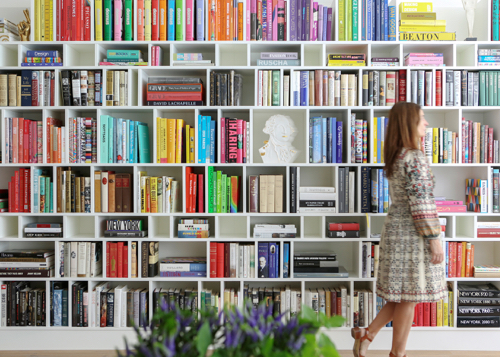 The Novogratz Design Fix Book Bookshelves By Color