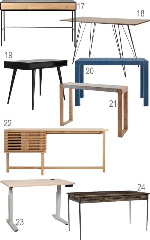 Stylish Home Office Modern Desks