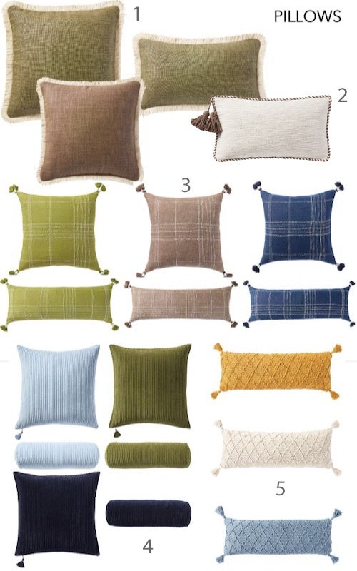 Serena & Lily Fall 2021 Pillows Lumbar Pillows