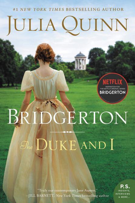 """""""Bridgerton"""" by Julia Quinn Cover"""