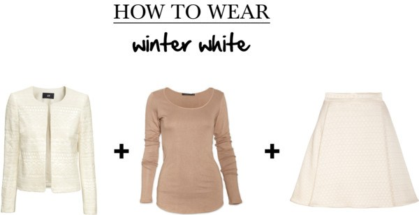 how to wear winter white with neutrals