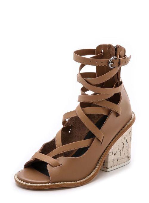 tibi gladiator sandals