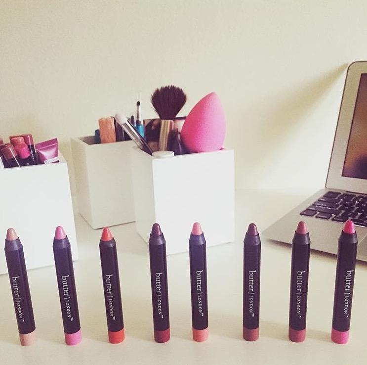 butterLondon lip crayons