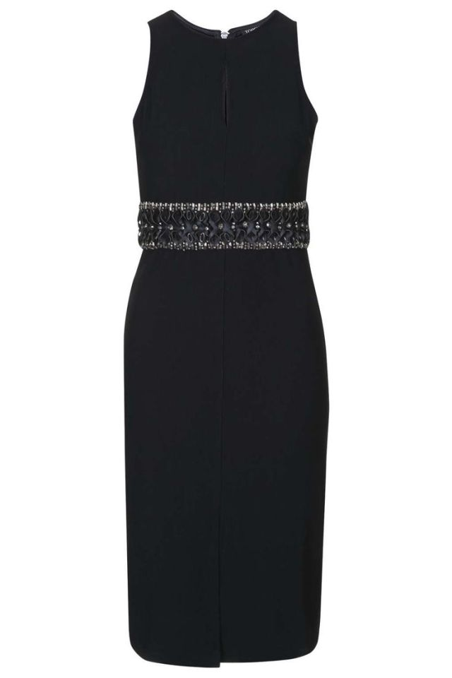 topshop bodycon dress
