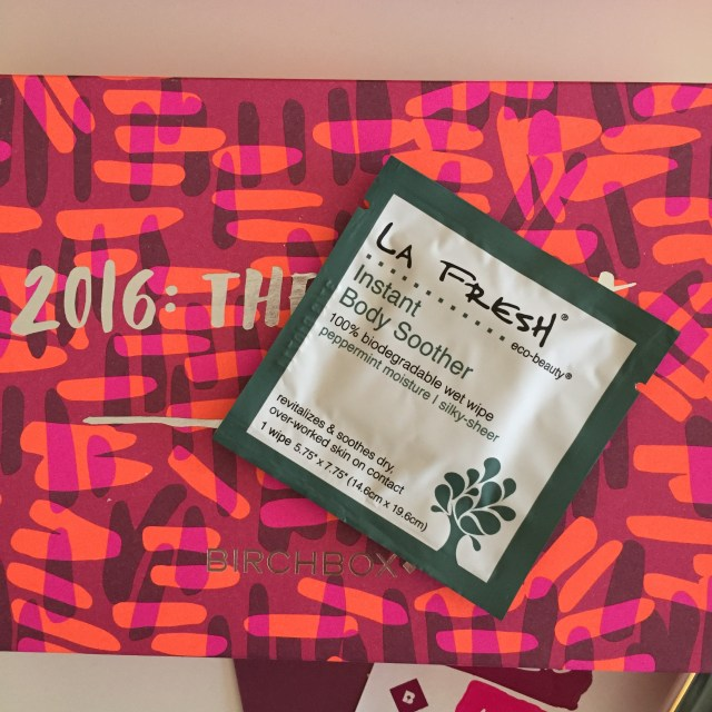 la fresh body soother wipes