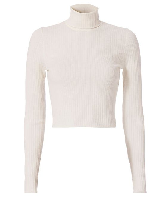 white turtleneck - how to wear a LWD in fall